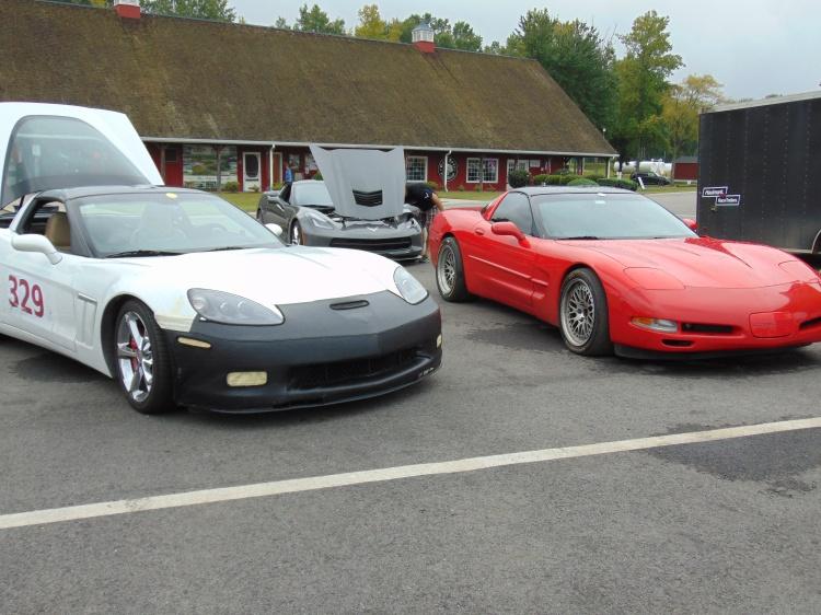 There were plenty of Corvettes.