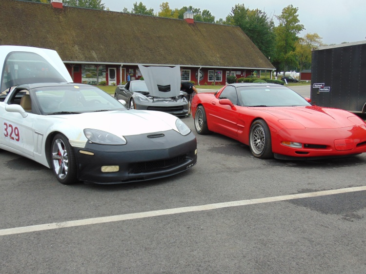There were plenty of Corvettes.