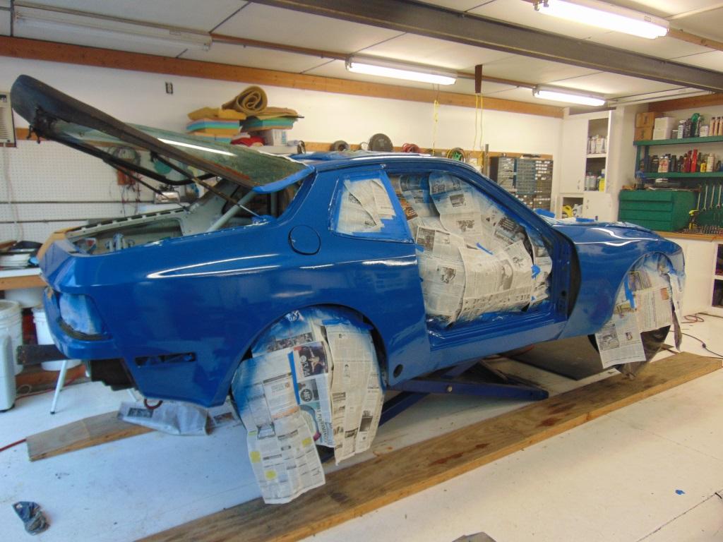 Synthetic Enamel Car Paint