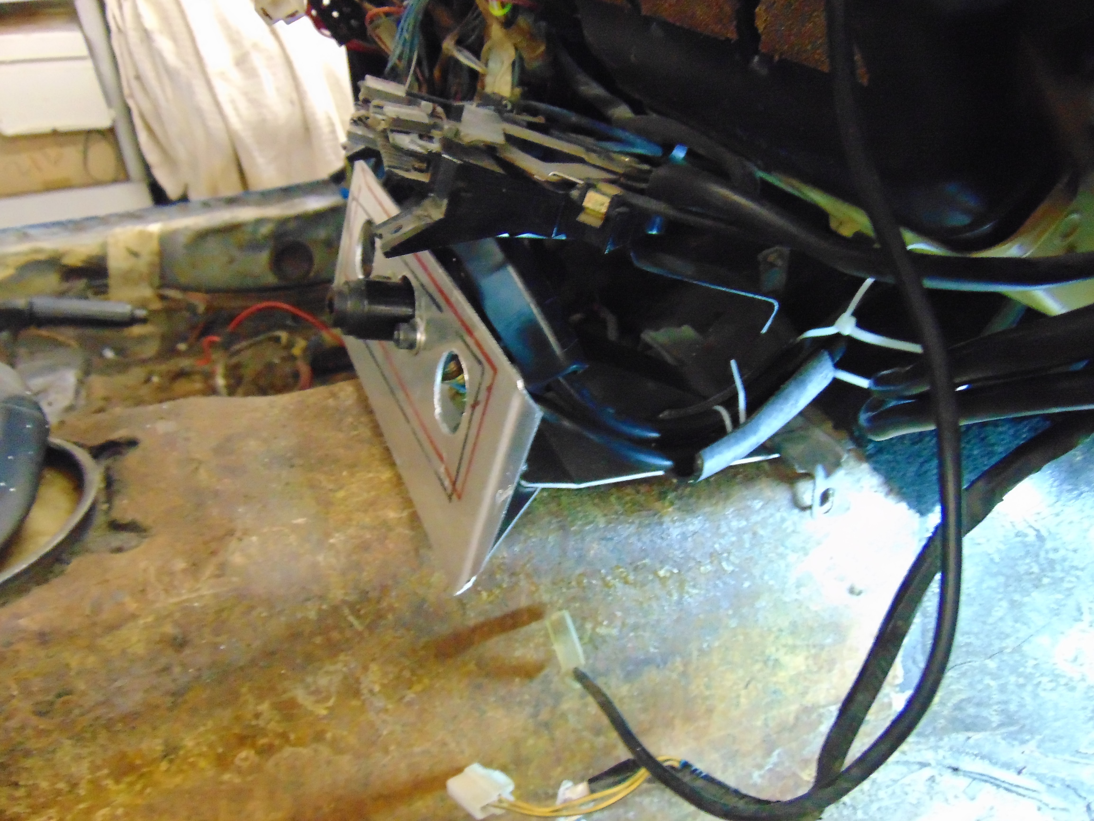 1984 Porsche 944 Street Track Car Electrical Refurbishment And Was The Wiring I Salvaged From Previous Lamps Spliced Wire Next Reliability Removal Of Existing Hacks As With 928 Job One Is To Remove Every Friction Type Connection Clean Off