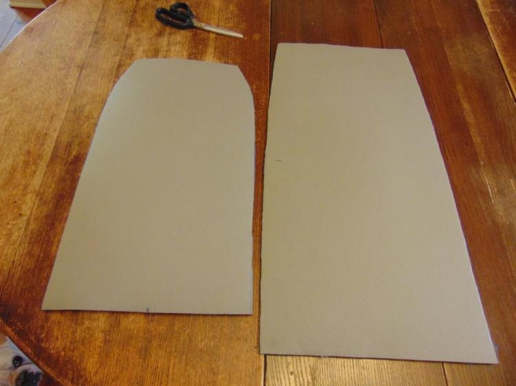 This is the special foam. The white surface has a cloth backing adhered. The fabric is glued to the opposite side.
