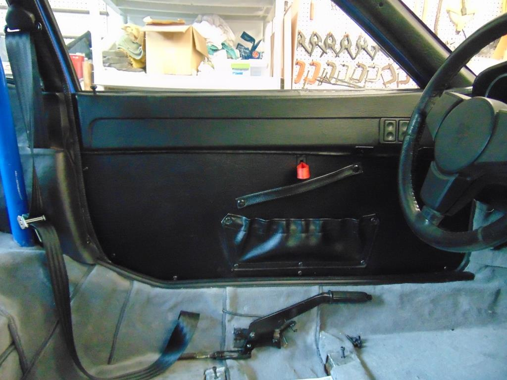 Driveru0027s side door card. & Porsche 944 Street/Track Car u2013 Carpet and Door Panels   New Hill Garage