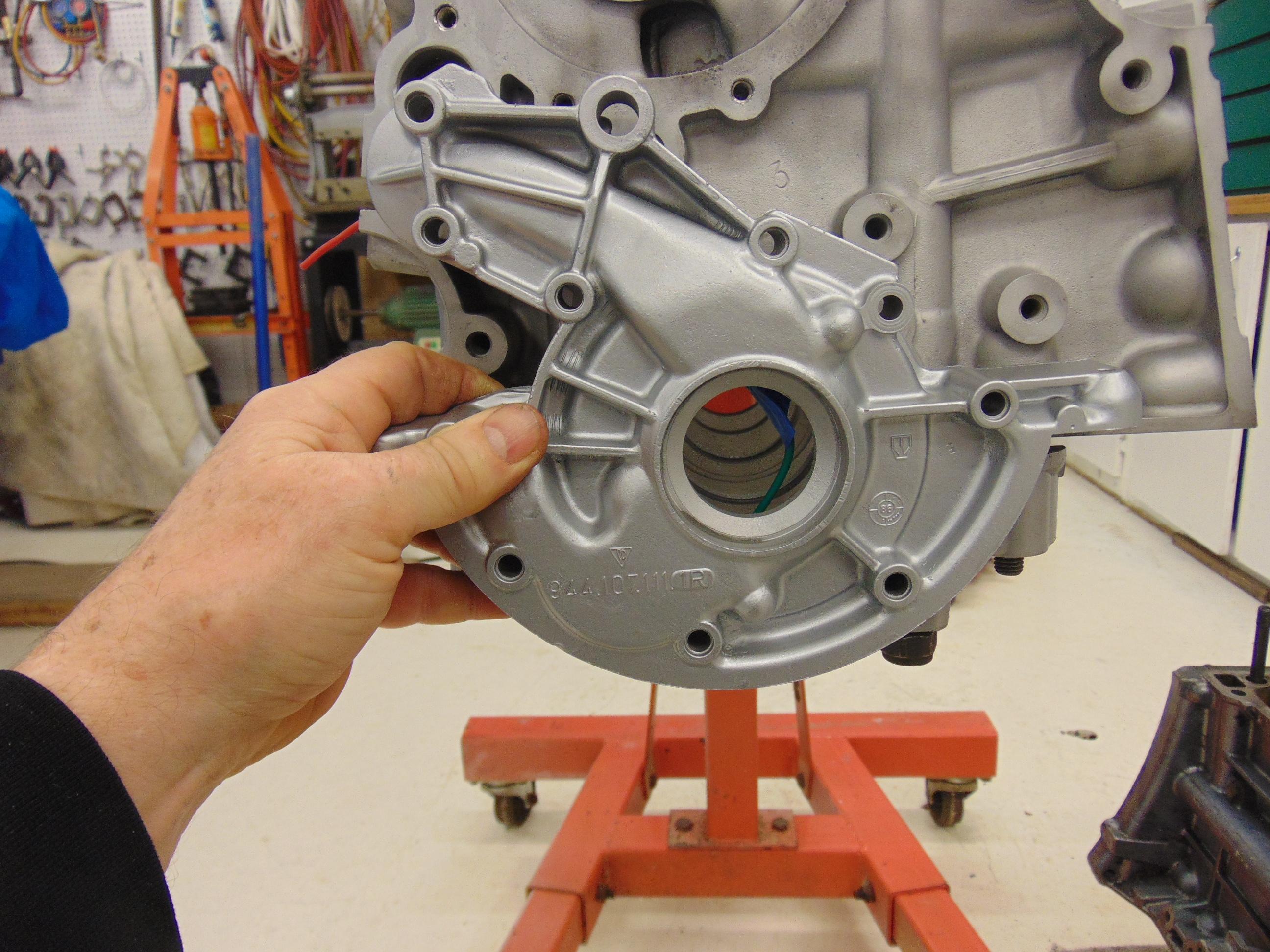 Porsche 944 Oil Pump Explained New Hill Garage 1984 Engine Wiring Diagram Housing